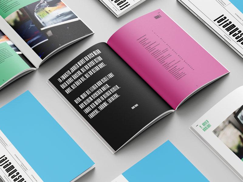 Katalogsatz, Buchsatz, Broschüren, Plakatgestaltung